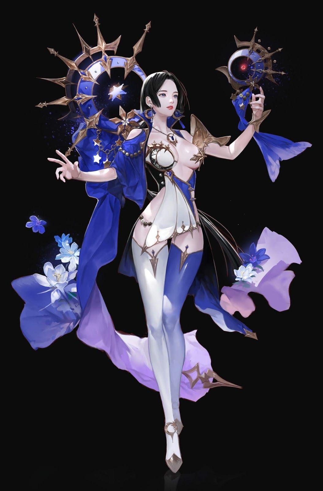 Russian Blue... Kai Fine Art Beautiful fantasy art