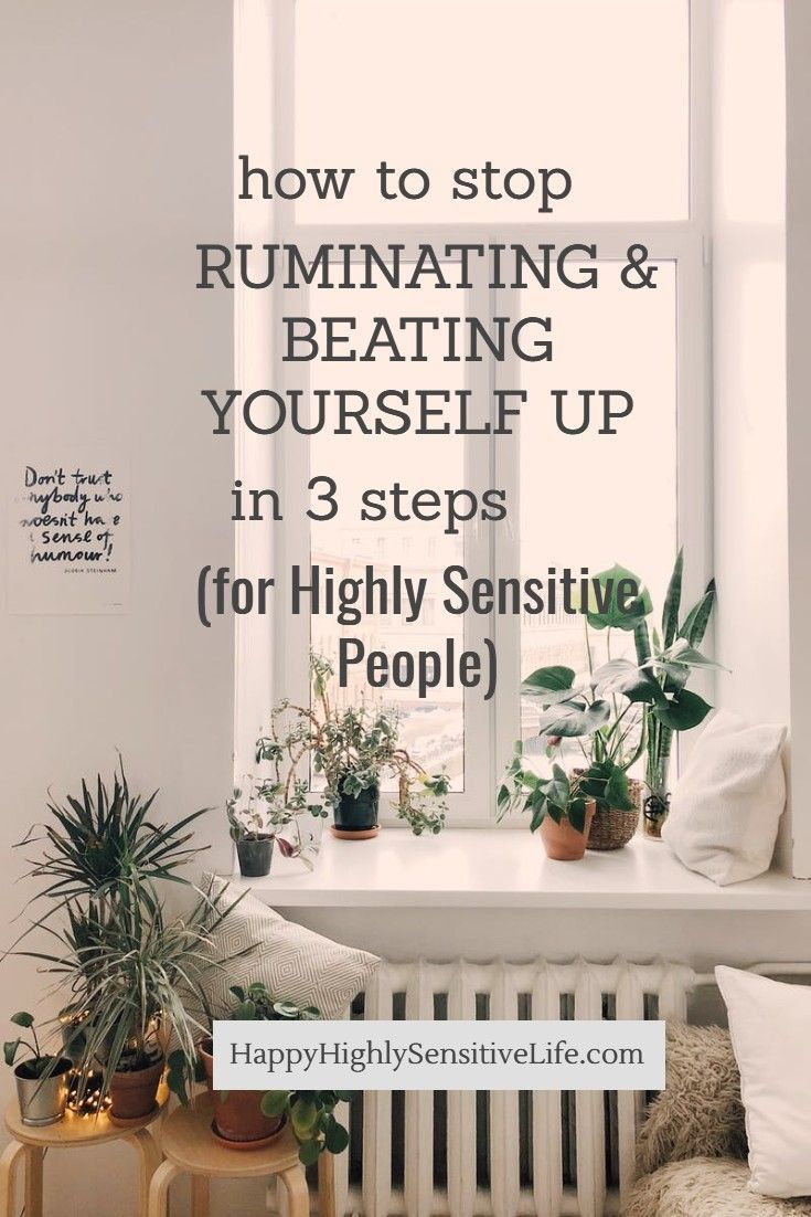 How to Stop Ruminating in 3 Steps