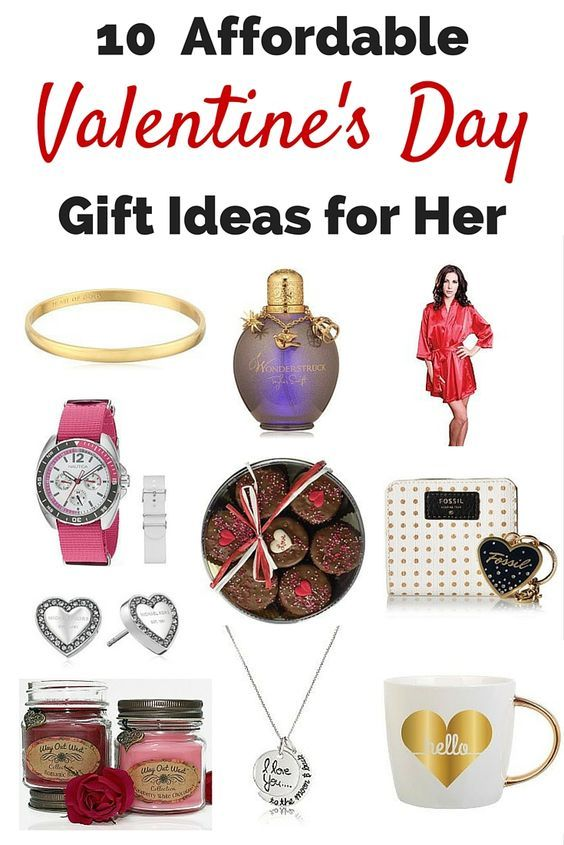 10 affordable valentine's day gift ideas for her | gift, Ideas