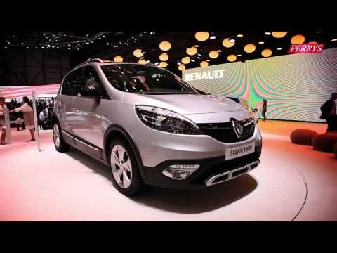 New Renault Scenic Xmod Sneak Preview Geneva Motor Show 2013