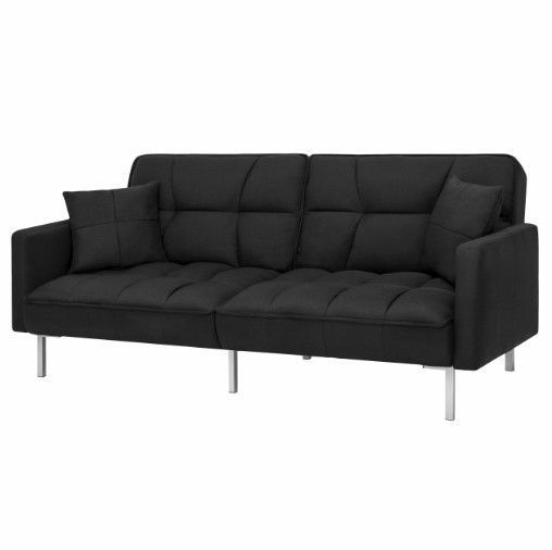 Sofa Futon Bed Couch Dorm Sleeper Couch Convertible Modern Living