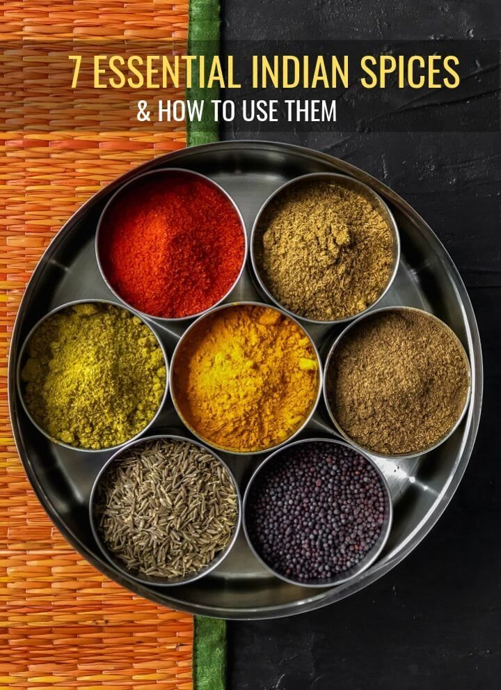 Indian spices - all you need to know about Indian spices and how to use them. #Indian #spices