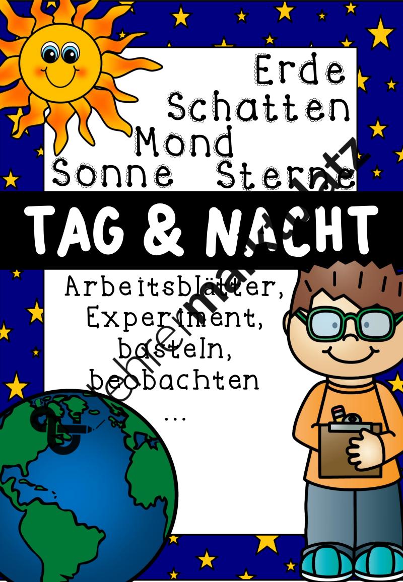 Tag und Nacht – Sachunterricht | SACHUNTERRICHT | Pinterest ...