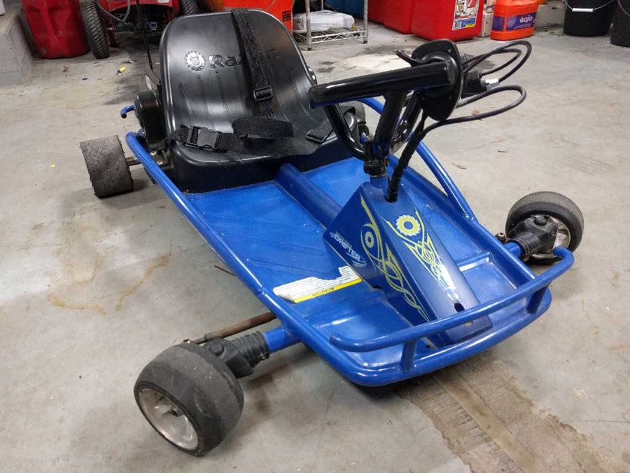 RAZOR GROUND FORCE DRIFTER, ELECTRIC GO CART 125 (With