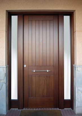 Wood Entrance Door