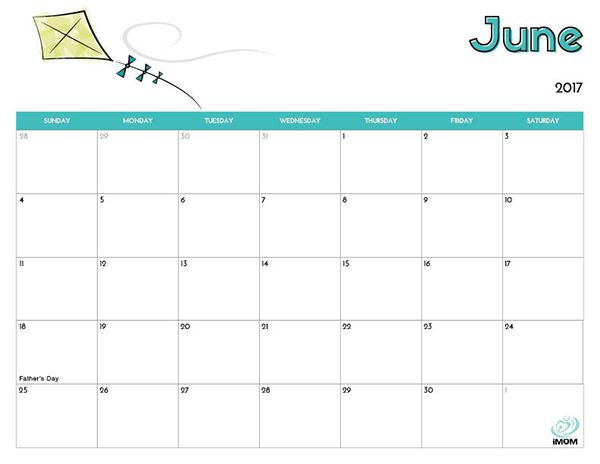 Pictures of 2021 Summer Calendar Printable