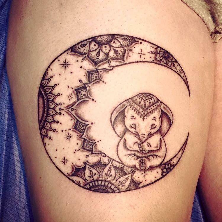 Photo of 75 grandes et petites idées de tatouage d'éléphant – Artisanat plus lumineux – 75 grandes et petites …