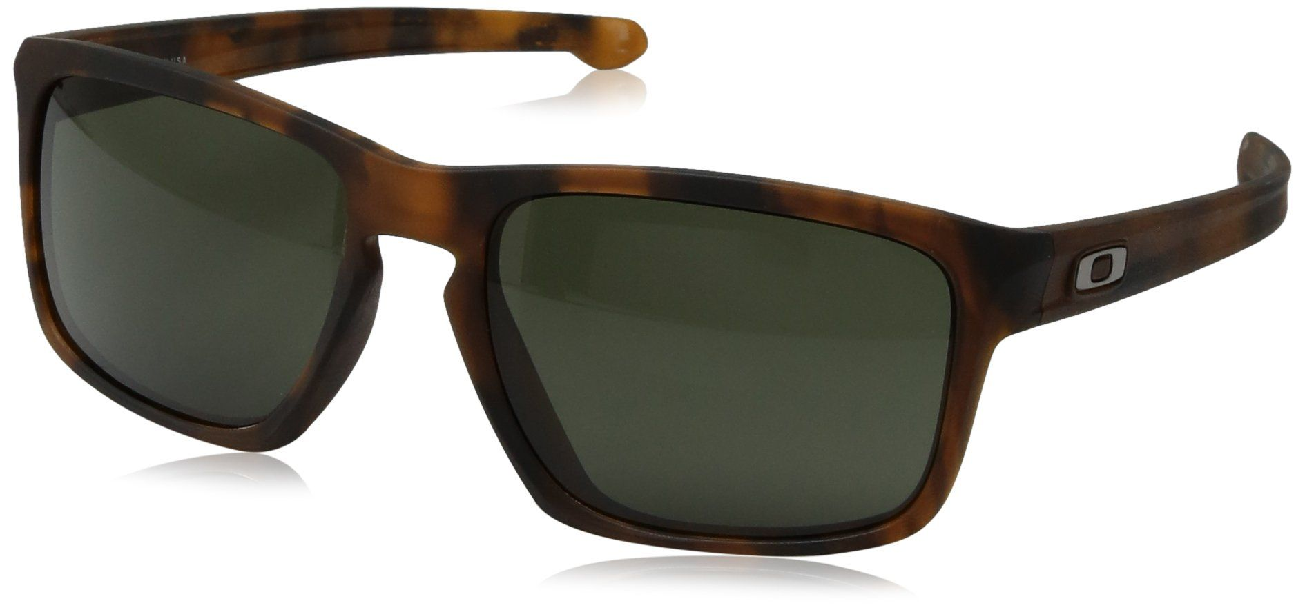 3ef81ffa076e6 Oakley Mens Sliver OO926902 Rectangular Sunglasses Matte Brown Tortoise 57  mm     You can find out more details at the link of the image.