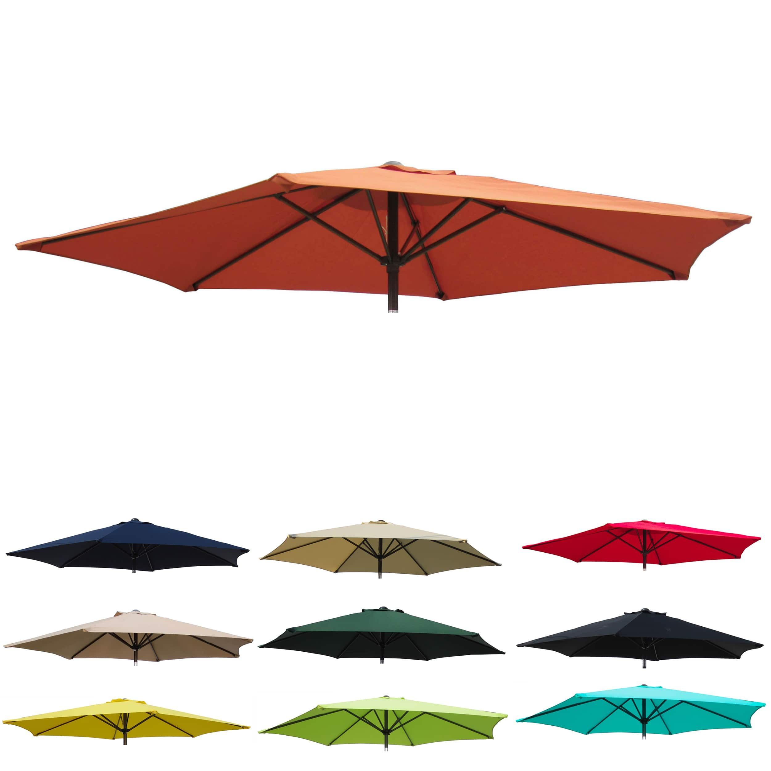 Delightful International Caravan St. Kitts Replacement Canopy For 8 Ft. Patio Umbrella  In