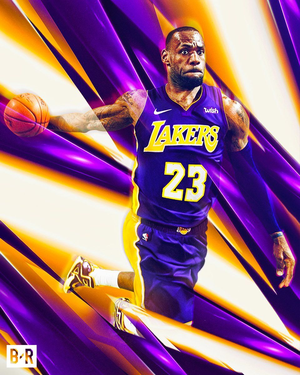 5fc9caaa39a6 Waiting on Game day to see the King in his New attire Laker style ...