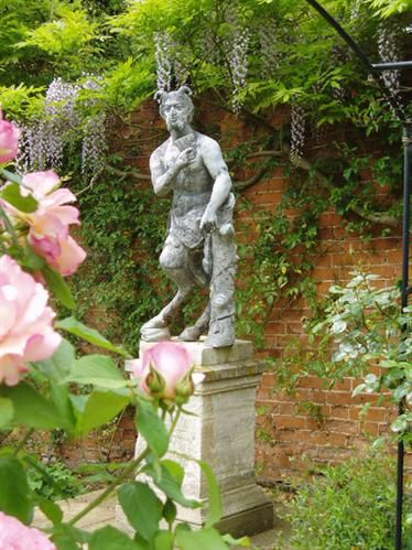 Pan, The God Of Love, Stands Guard Over The Entrance To The Garden And  Reminds Us That Rococo Gardens Were Sensual Pleasure Grounds For 18th  Century Gentry.