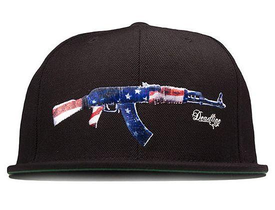 569dd02ca25 AK-47 Snapback Cap by DEADLINE LTD