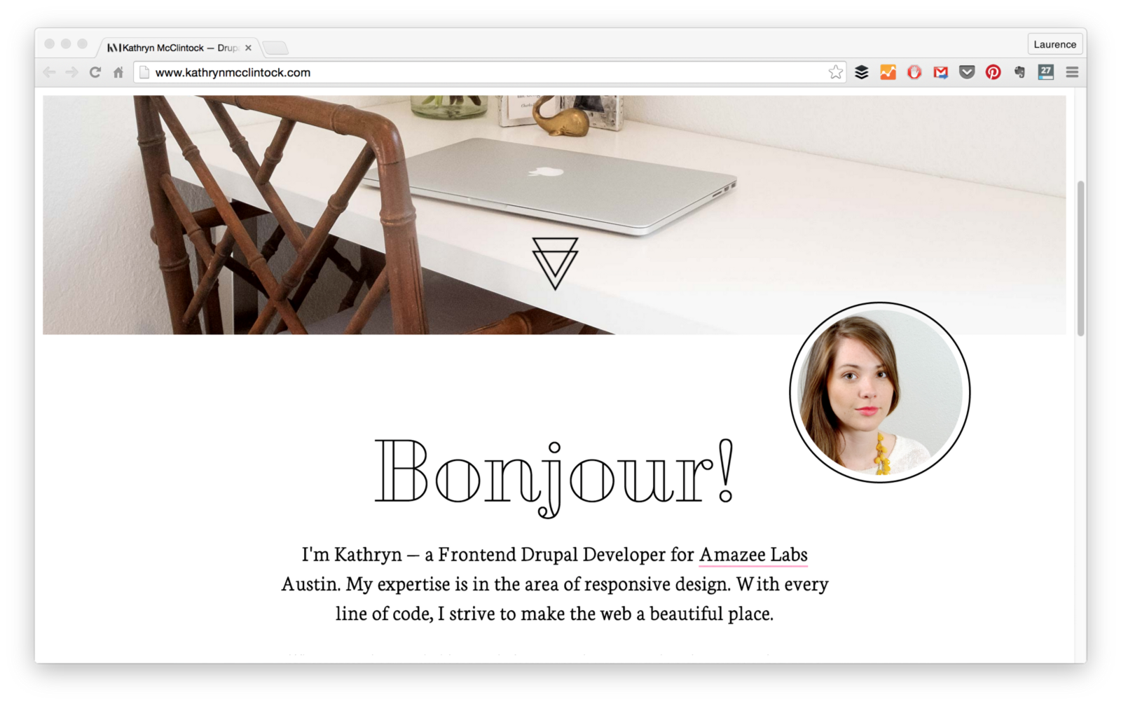 15 Web Developer Portfolios To Inspire You Freecodecamp Web Developer Portfolio Web Development Personal Website Portfolio