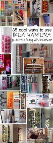 35 Applications for the IKEA VARIERA plastic bag dispenser …