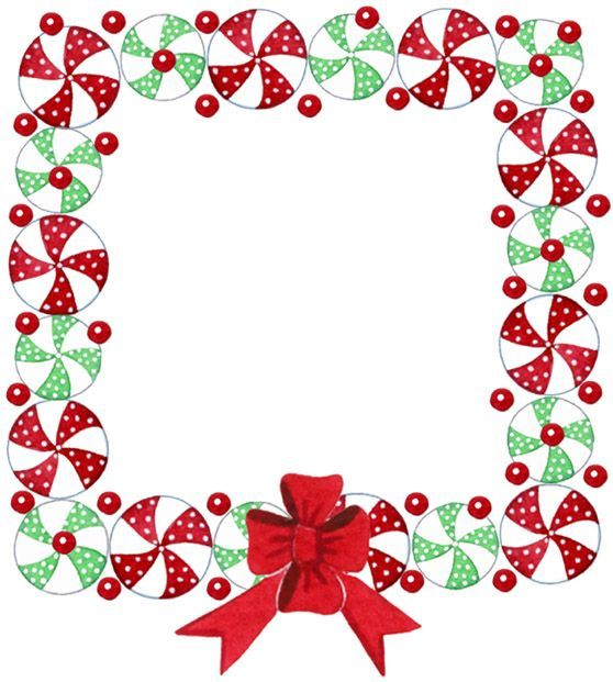 Christmas Frame Clipart.Christmas Frame Border Christmas Frames Borders