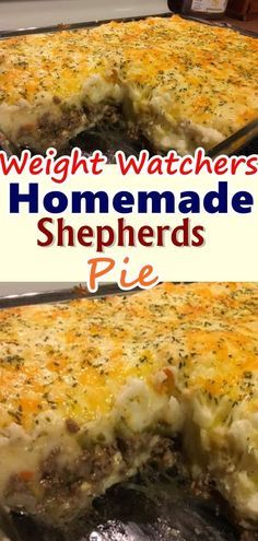 weight watchers shepherds pie