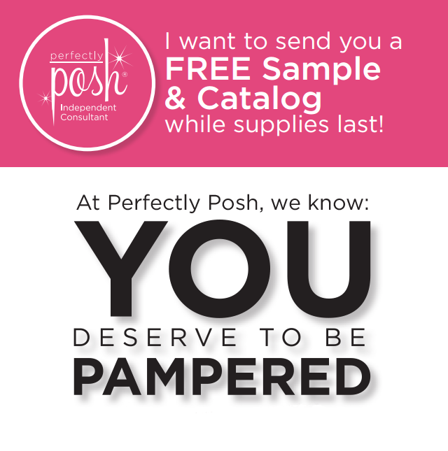 Free Perfectly Posh Sample Perfectly Posh Samples Perfectly Posh Ideas Perfectly Posh