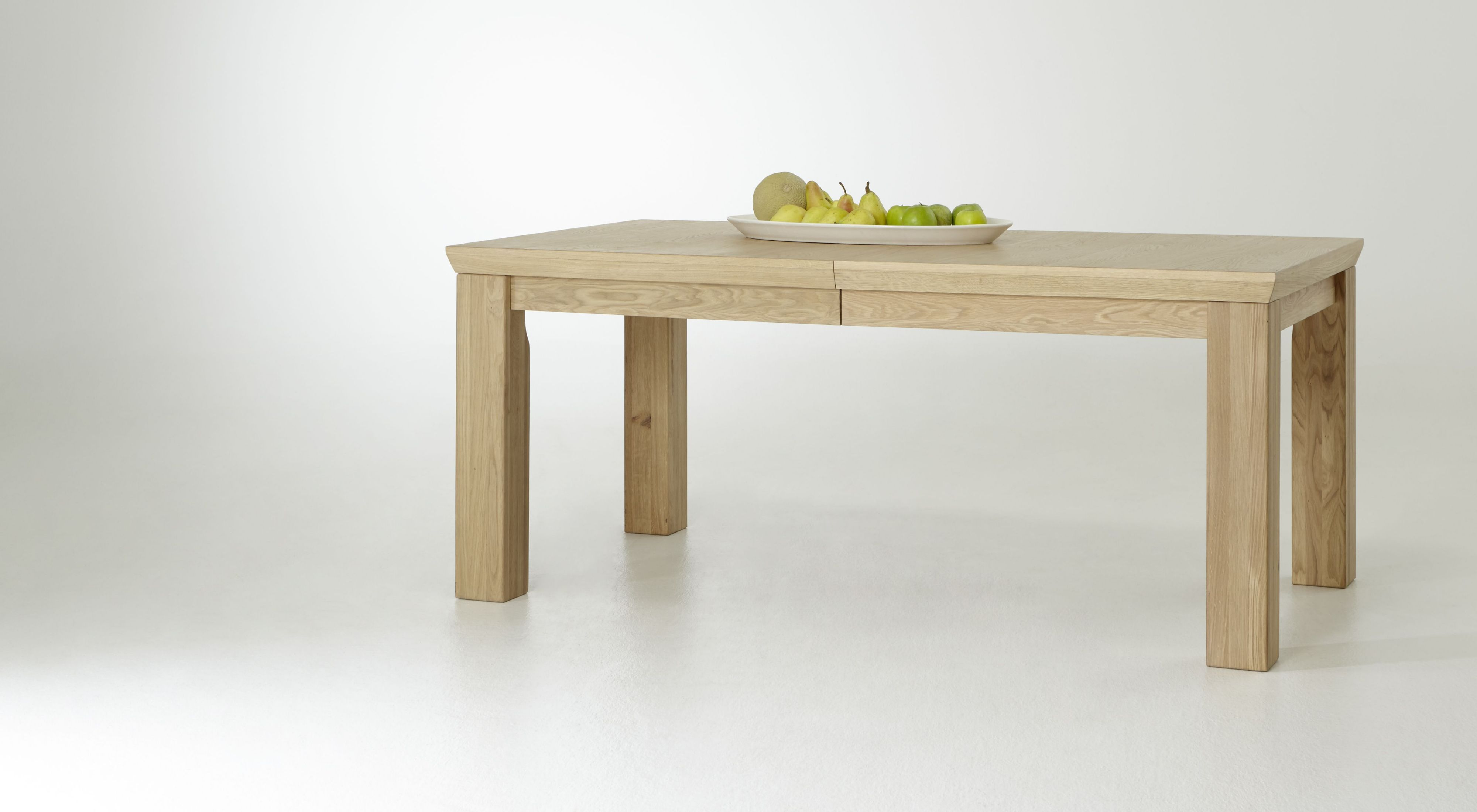 Ansprechend Holz Esstisch Ausziehbar Galerie Von 180 - 280 X 100 Cm Eiche