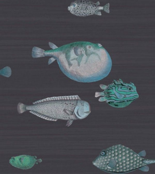 nautical wallpaper fish print wallpaper navy blue wallpapernautical wallpaper fish print wallpaper navy blue wallpaper patterned wallpaper wallpaper for bathroom, bedroom chelsea lane \u0026 co