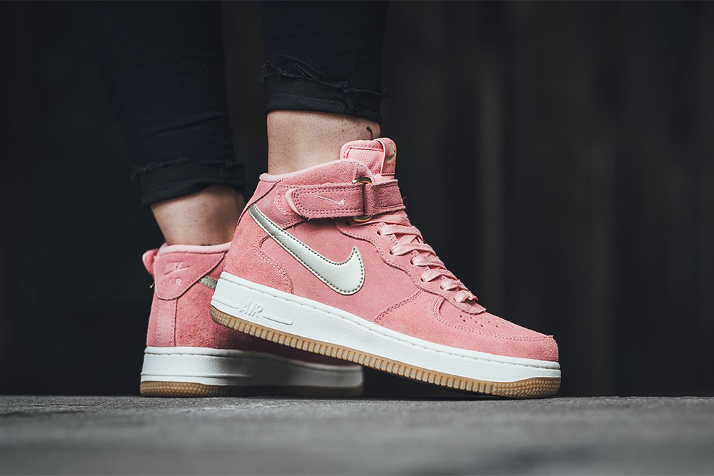 "Nike Air Force 1 Mid '07 ""Bright Melon / Metallic Gold Star – Sail"