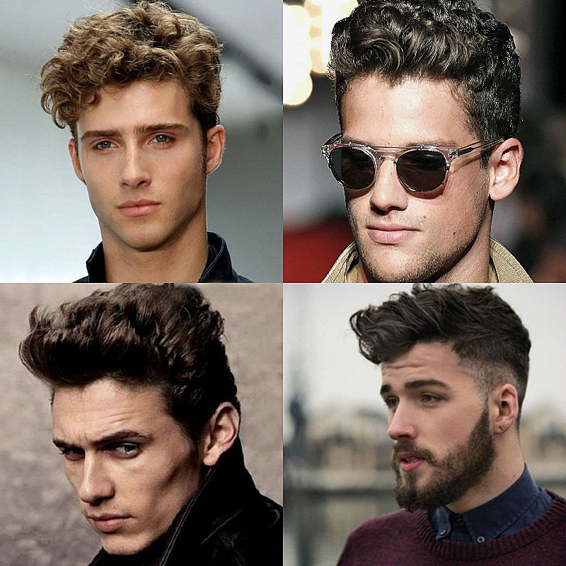 28 Coolest Pompadour Haircuts For Men In 2020 The Trend Spotter Curly Hair Men Pompadour Haircut Pompadour