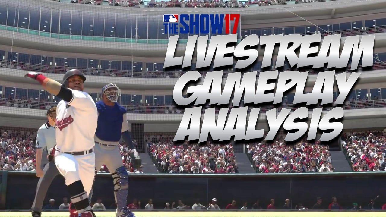 Mlb The Show 17 Gameplay Legends Retro Mode Livestream Analysis Mlb The Show Live Streaming Gameplay
