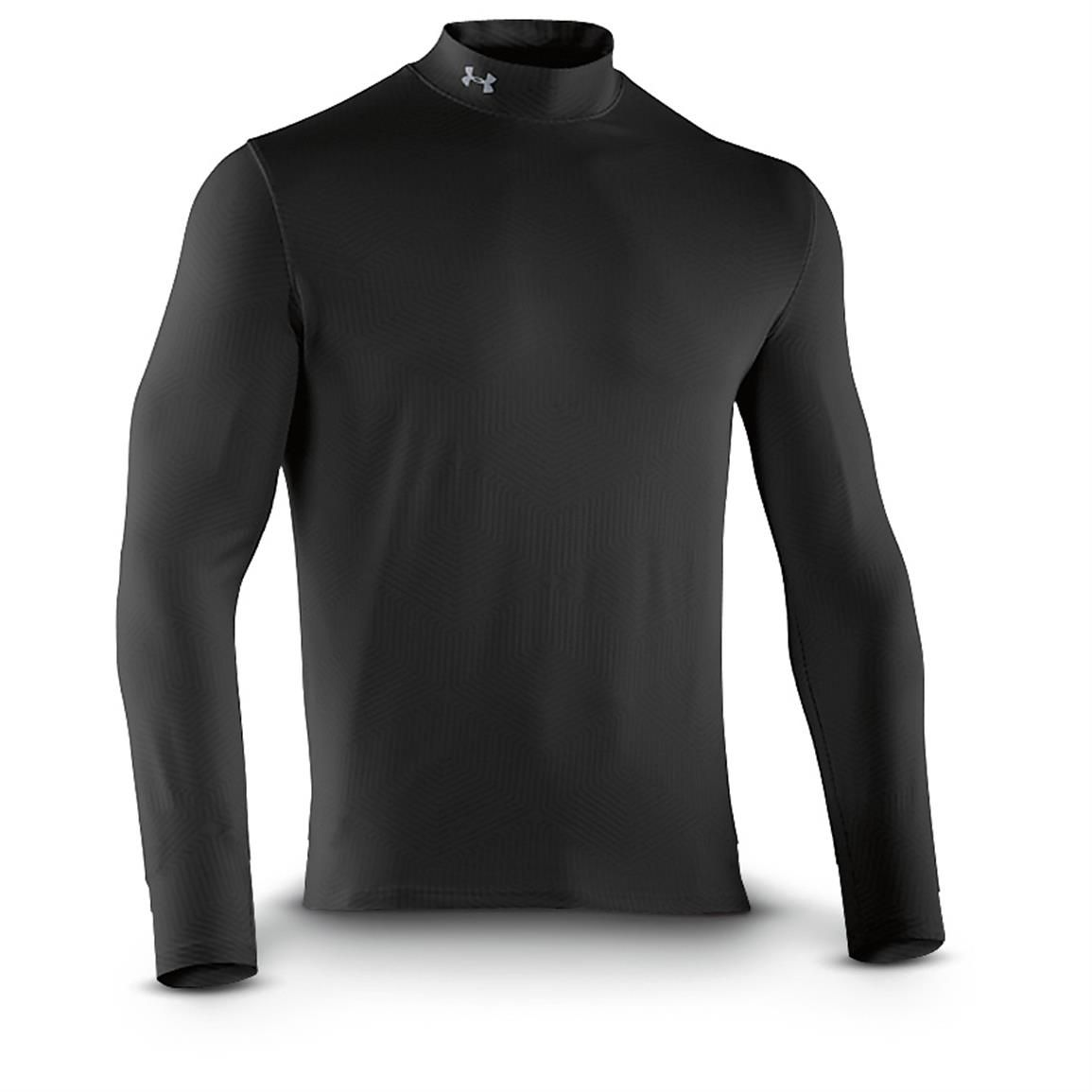 under armour mock turtleneck