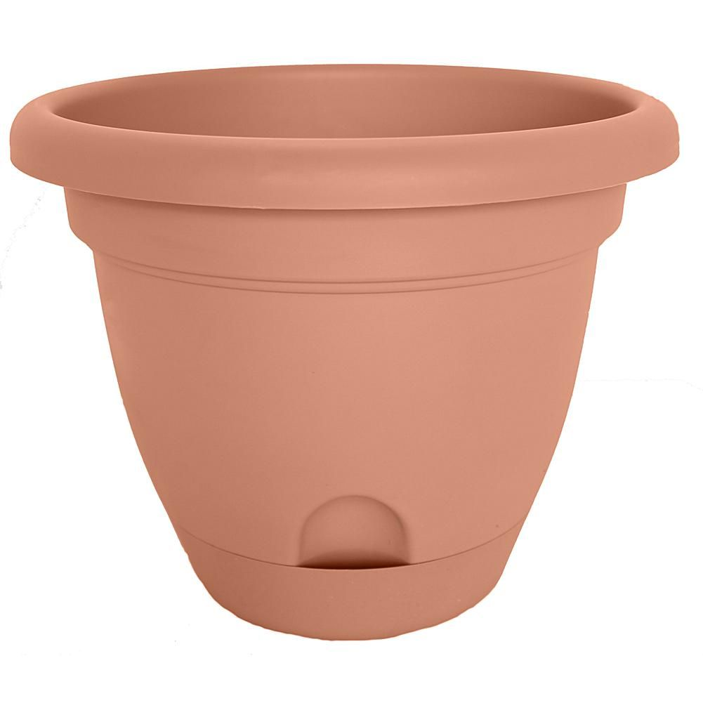 Lucca Self Watering Planter 14 In 8717275 Self Watering Planter Resin Planters Planters