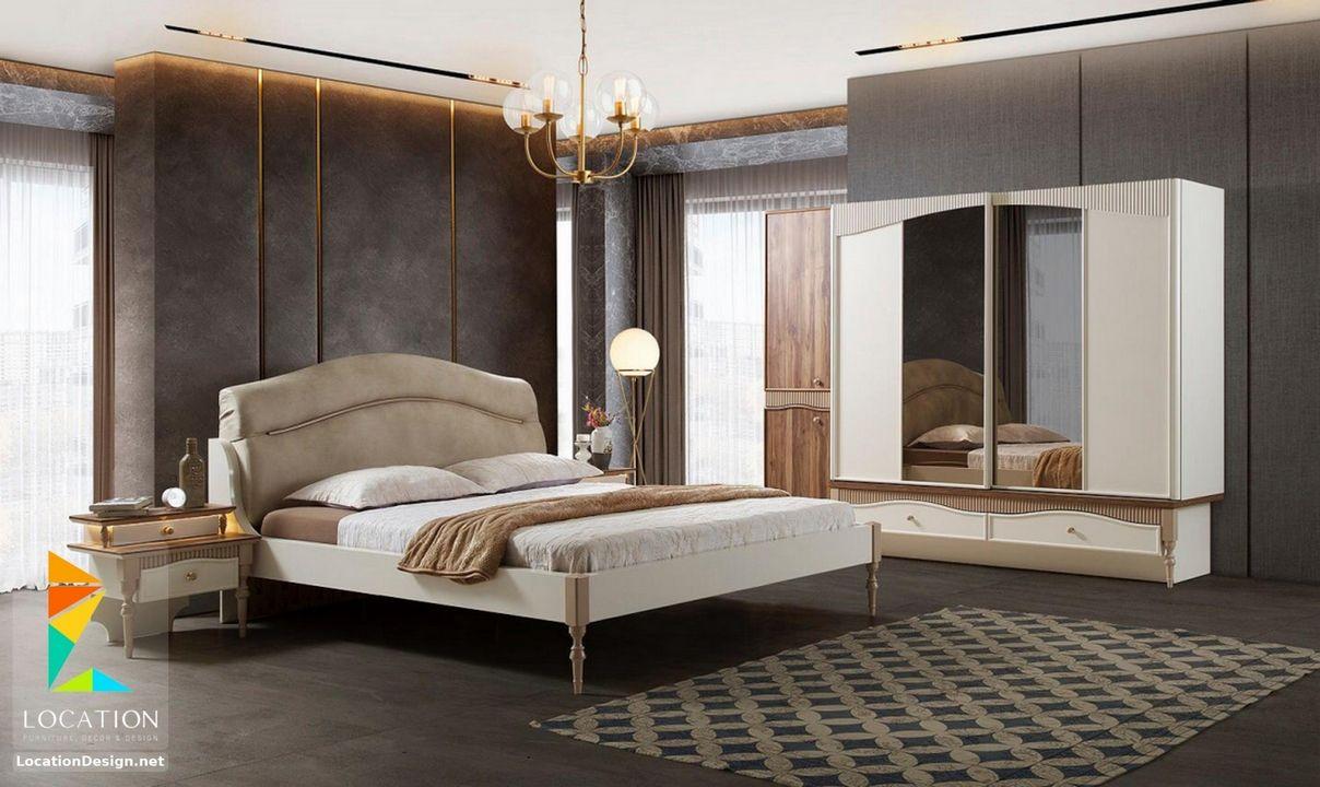 اشكال غرف نوم مودرن من أحدث موديلات غرفة النوم 2019 Bedroom Set Sleeping Room Balcony Decor