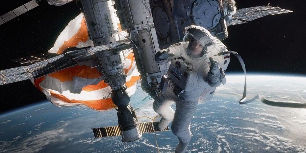 Popular Mechanics on | Gravity movie, Movies, Gravity film