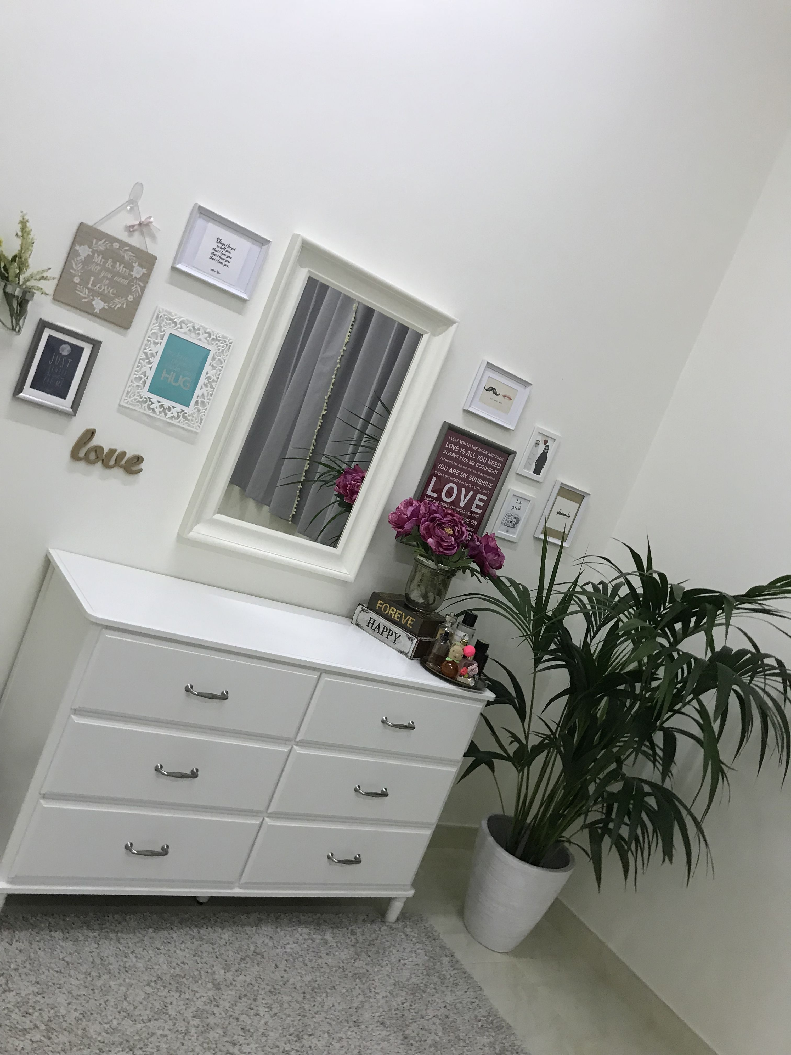 My Bedroom From Ikea Matredal Mirror Tyssedal Chest Of 6