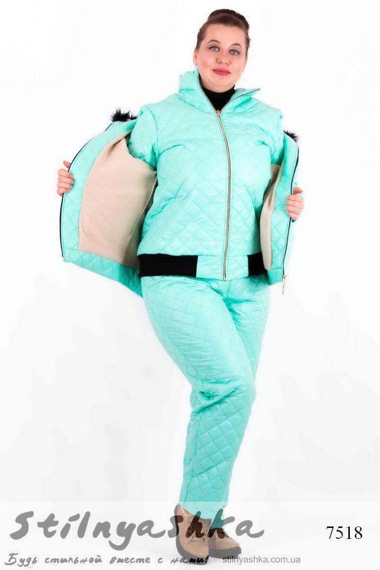 b4e5714592a2 Женский лыжный костюм тройка ментол | Женские лыжные костюмы и ...