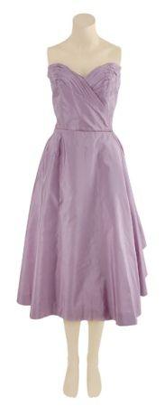 Cocktail Dress, Jacques Fath for Halpert: 1950's, French, silk shantug.