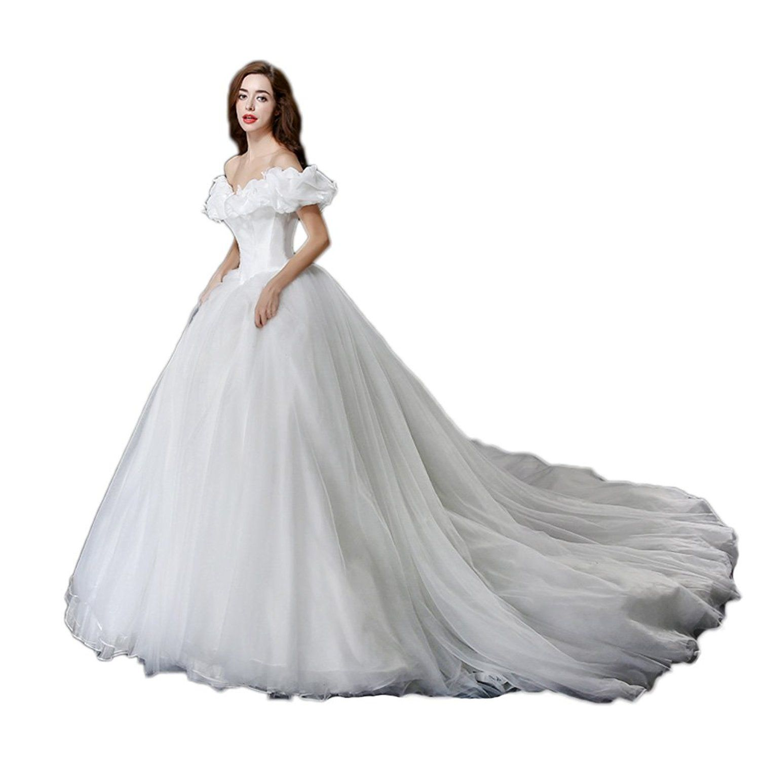 Aurora Bridal Women's Ball Gown Princess Cinderella Quinceanera Wedding Dress See This Awesome Image Dresses: Princess Aurora Wedding Dresses At Reisefeber.org
