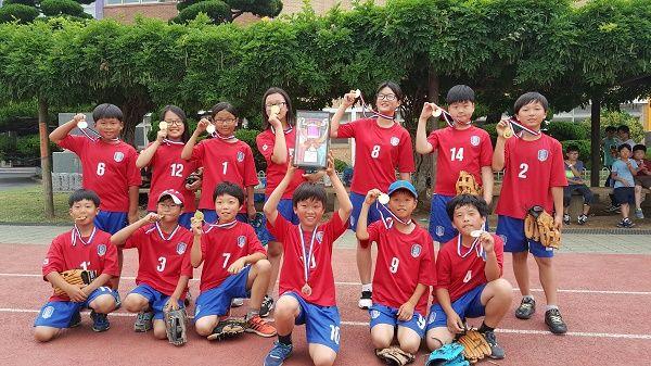 장흥남초등학교, 학교스포츠클럽대회 티볼 부문 우승