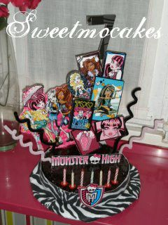 monster high cake  tarta monster high