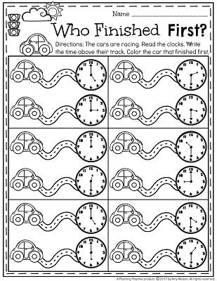 Telling Time Worksheets | Pinterest | Telling time, Worksheets and Math