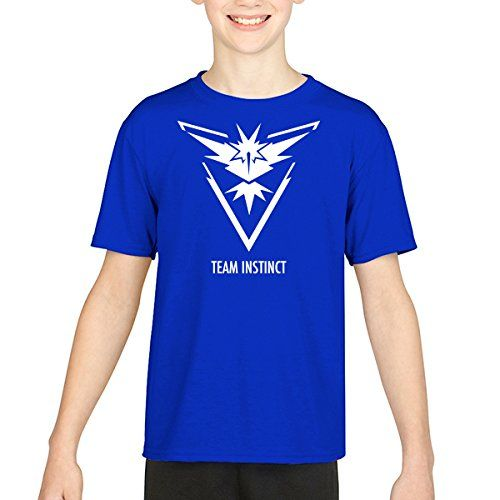 Pokemon Go Team Instinct Camiseta (Royal, 11) #camiseta #realidadaumentada #ideas #regalo