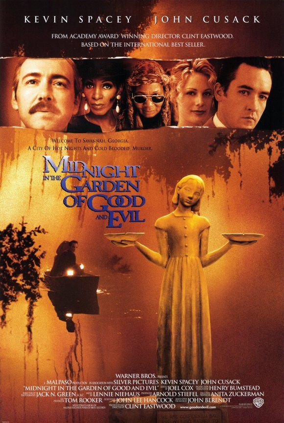 Midnight in the Garden of Good and Evil, 1997 outside of a few sound