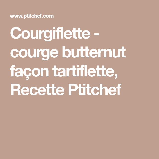 Courgiflette