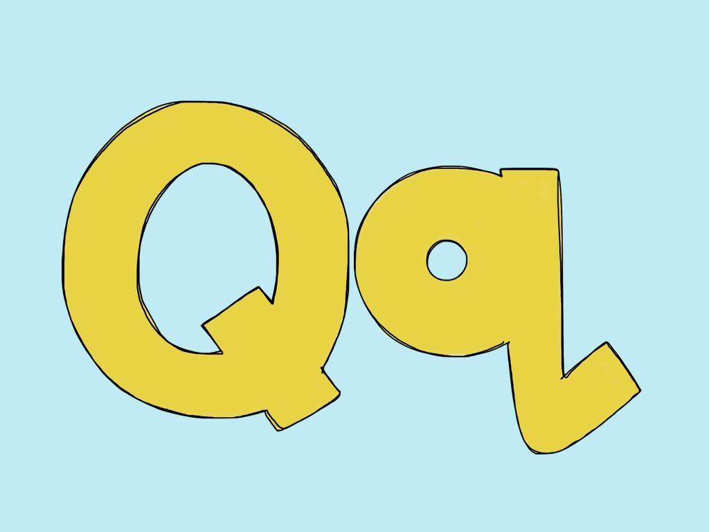 Letter Qq Video To Teach The Letter Qq Teaches Letter