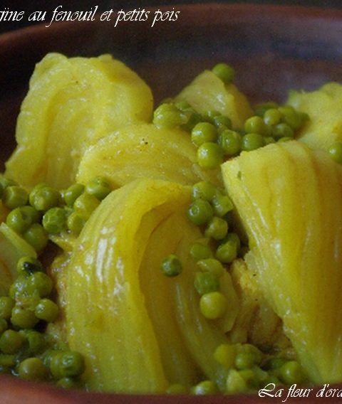 Tajine au fenouil et petits pois cuisine en 2019 recette recettes de cuisine et recette fenouil - Cuisiner les petits pois ...