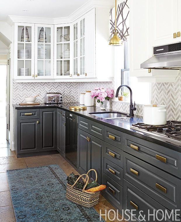 35+ Gray lower cabinets white upper ideas in 2021