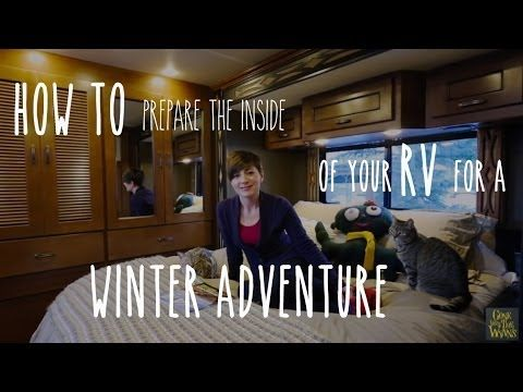 Photo of RV Tip – Prepare the Inside of an RV for Freezing Winter Weather