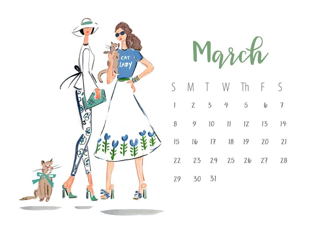 Most uptodate Free cute March 2020 calendar Tips Printable calendars provide people that have an opportune approach to check the periods as well as a