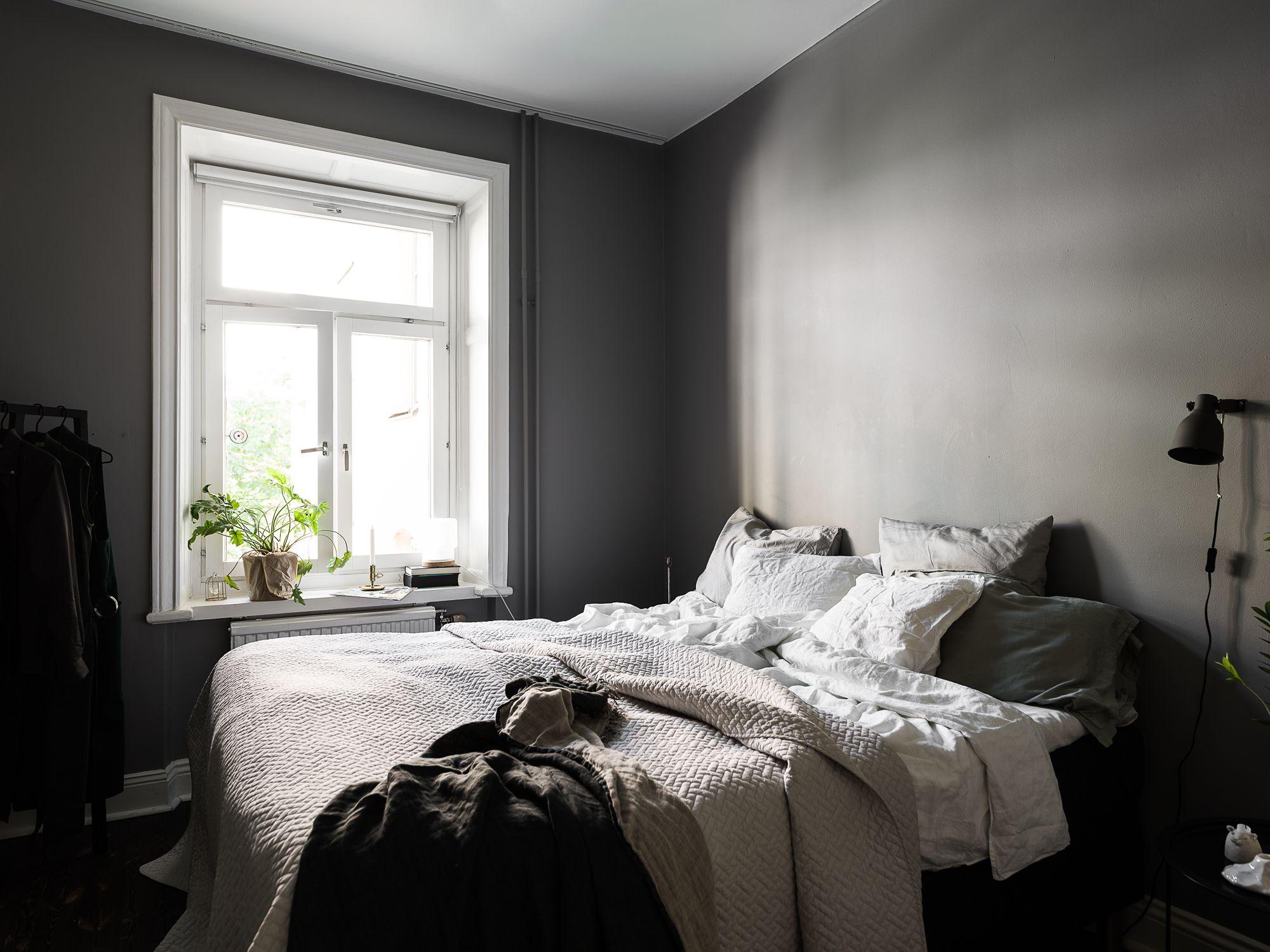 Dark Grey Bedroom Coco Lapine Design Dark Gray Bedroom Dark Grey Walls Gray Bedroom