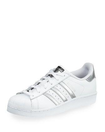 Adidas Superstar Original Fashion Sneakers, WhiteSilver i 2019