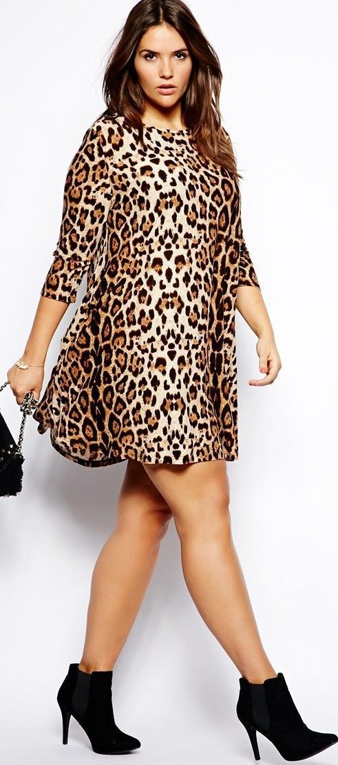 5 Animal Print Outfits For Plus Size Girls That You Will