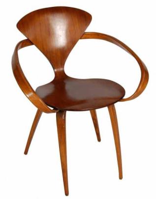 Cherner Chair, Norman Cherner, 1958, Massachusetts
