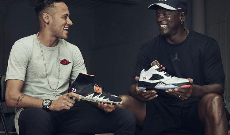 3998c2f6b Michael Jordan e Neymar Jr. apresentam coleção NJR x JORDAN